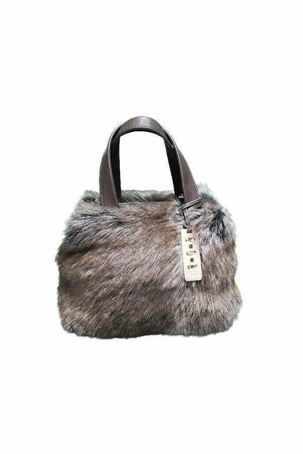 UGGUGG Australia Lamb Fur Satchel