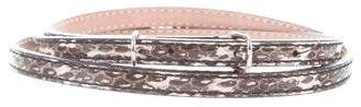 Balenciaga Embossed Hip Belt