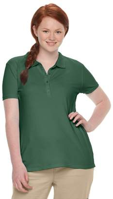 So Juniors' Plus Size SO Uniform Polo Top