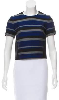 Proenza Schouler Short Sleeve Striped Top