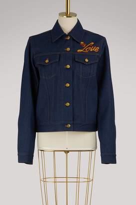 Olympia Le-Tan Olympia Le Tan I Do My Own Thing denim jacket