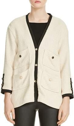 Maje Vega Tweed Jacket