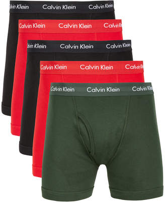 Calvin Klein Men 5-Pk. Cotton Classics Boxer Briefs