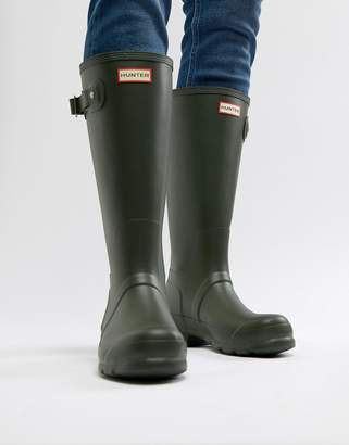 Hunter Tall Wellies In Green