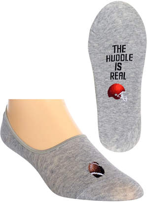 Hot Sox Men's The Huddle Is Real Liner Socks