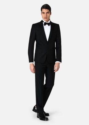Emporio Armani Tuxedo Jacket With Satin Lapels