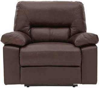 Very Newberg Premium Leather Power Recliner Armchair