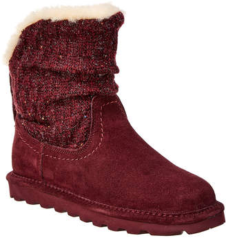 BearPaw Virginia Never Wet Water-Resistant Suede Boot