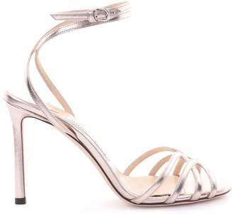 Jimmy Choo Mimi 100 Metallic Sandals