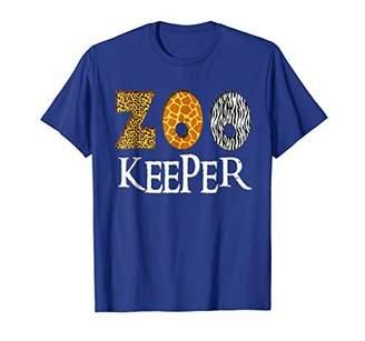 Zookeeper Shirt | Animal Lover Print & Pattern T-Shirt