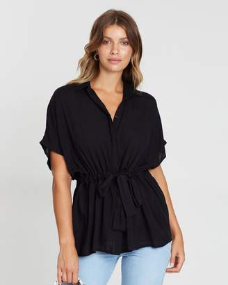 Atmos & Here Sara Waisted Shirt