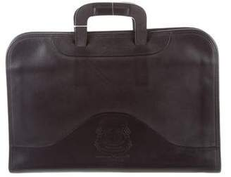 Ghurka Attache Leather Briefcase