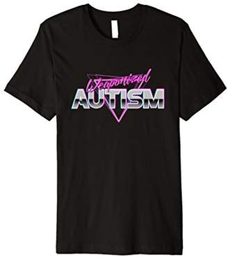 Funny Meme 80s Aesthetic T-Shirt Weaponized Autism