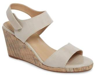 Johnston & Murphy Glenna Wedge Sandal (Women)