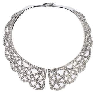 Oscar de la Renta Lace Collar Necklace