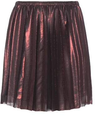 Etoile Isabel Marant Isabel Marant, Étoile Manda pleated metallic skirt