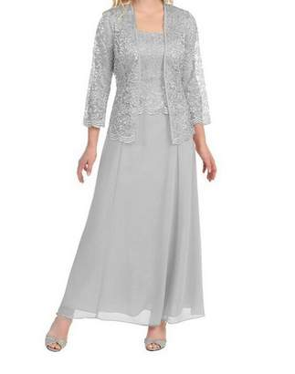 Love To Dress Love Dress Womens Long Mother of the Bride Plus Size Formal Lace Dress with Jacket US