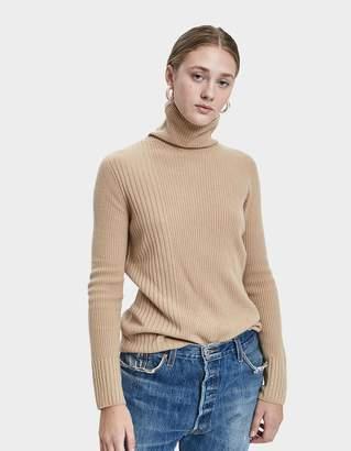 Sori Tina Ribbed Sweater in Camel