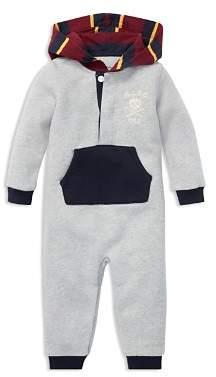 Ralph Lauren Boys' Fleece Coverall - Baby