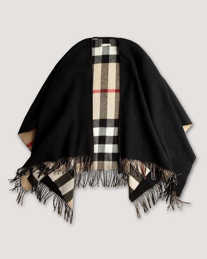 Burberry Collette Cape Lightweight Wrap