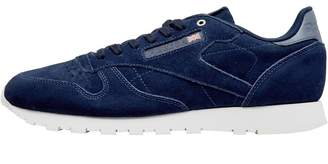 01c6703b4d3 Reebok Classics x Montana Cans Collaboration Mens Leather Trainers Blue  Note Chalk