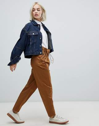 Asos Paperbag High Waist Trouser