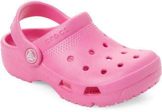 Crocs Toddler/Kids Girls) Party Pink Coast Clogs