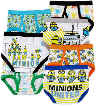 JCPenney LICENSED PROPERTIES Minions 7-pk. Briefs - Toddler Boys 2t-4t