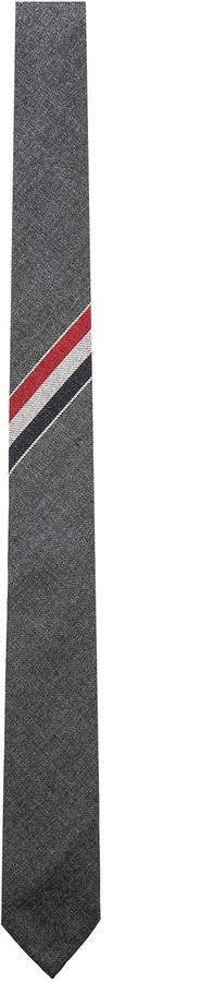 Thom Browne Wool Twill Tie