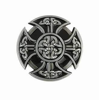 Celtic MASOP Heavy Cross Knot Men's Belt Buckle Metal For 1.5inch Wide Belt