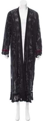 Giada Forte Open Long Knit Sweater w/ Tags