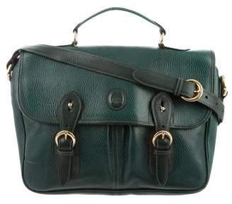 Mark Cross Grain Leather Crossbody Bag