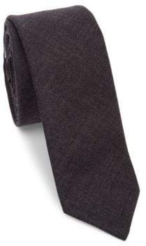 Thom Browne Classic Textured Wool Tie