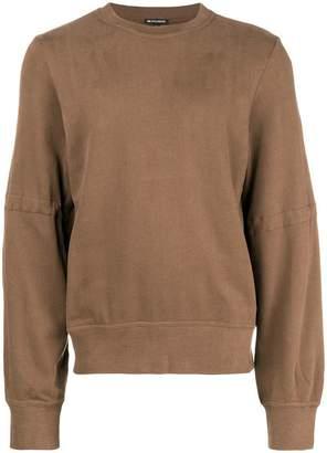 Ann Demeulemeester tie sleeve sweatshirt