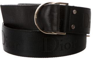Christian Dior Christian Dior Woven Logo Belt