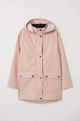 H&M Hooded Raincoat - Pink