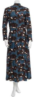 Marni Silk Midi Dress
