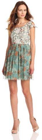 Anna Sui Women's Cold Shoulder Dress