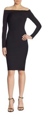 Ralph Lauren Collection Garret Off-The-Shoulder Dress $990 thestylecure.com