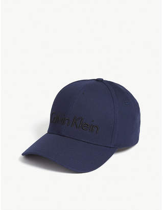 Calvin Klein Embroidered logo cotton cap