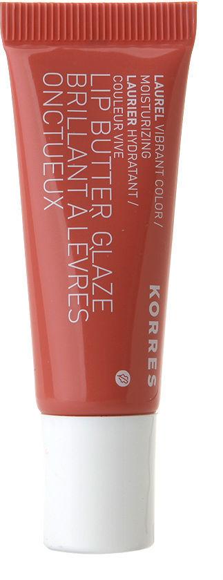 Korres Lip Butter Glaze, Laurel 0.34 oz (10 ml)