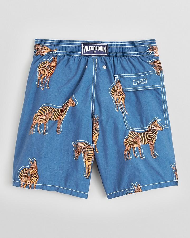 Vilebrequin Moorea Zebra Swim Trunks