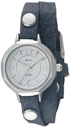 La Mer Women's LMDELMARDW1503 Blue Watch
