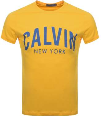 Calvin Klein Tibokoy Slim T Shirt Yellow