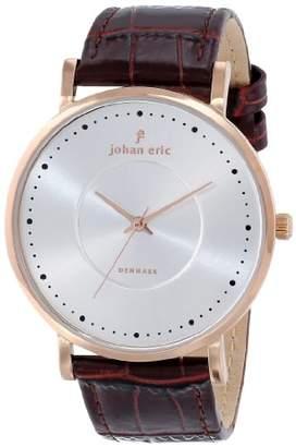 Johan Eric Men's JE1800-09-001 Esbjerg Analog Display Quartz Brown Watch