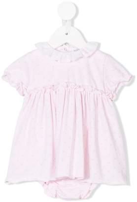 Le Bebé Enfant polka dot print dress