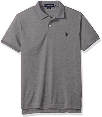 U.S. Polo Assn. Men's Classic Fit Solid Short Sleeve Poly Polo Shirt