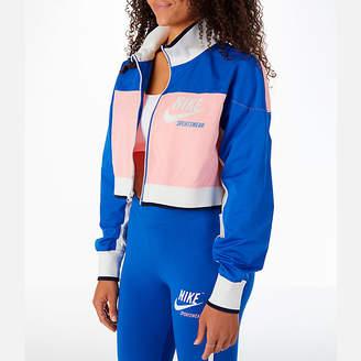 Nike Women's Sportswear Archive Cropped Track Jacket