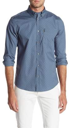 Ben Sherman Polkadot Long Sleeve Regular Fit Shirt
