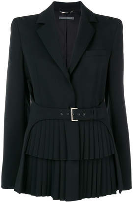 Alberta Ferretti belted fitted jacket
